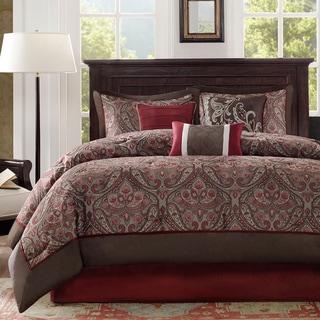 Link to Madison Park Preston 7-piece Comforter Set Similar Items in Comforter Sets