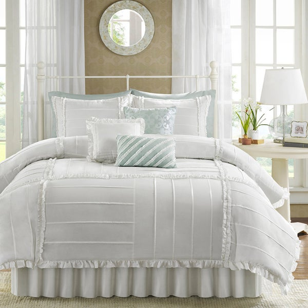 Madison Park Holly Cotton 7-piece Comforter Set