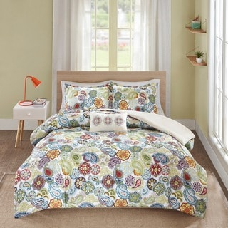 The Curated Nomad Stanyan 4 Piece Duvet Cover Set