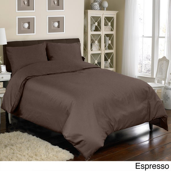 Grand Luxe Egyptian Cotton Sateen 800 Thread Count 3-piece Mini Duvet Cover Set
