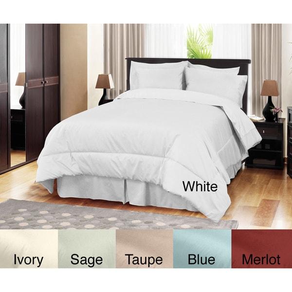 Egyptian Cotton 500TC 4-piece Comforter Set