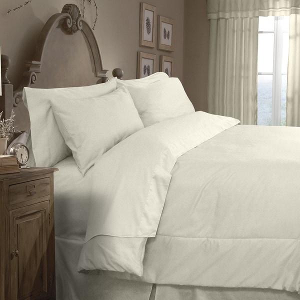 Grand Luxe Egyptian Cotton Sateen 1200 Thread Count 4-piece Comforter Set