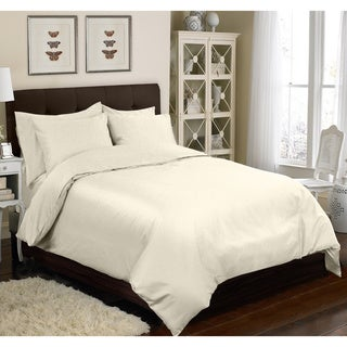 Grand Luxe 100-percent Egyptian Cotton Sateen 1200 Thread Count 6-piece Duvet Cover Set
