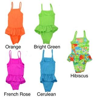 LA77 Girls' 1-piece Swimsuit