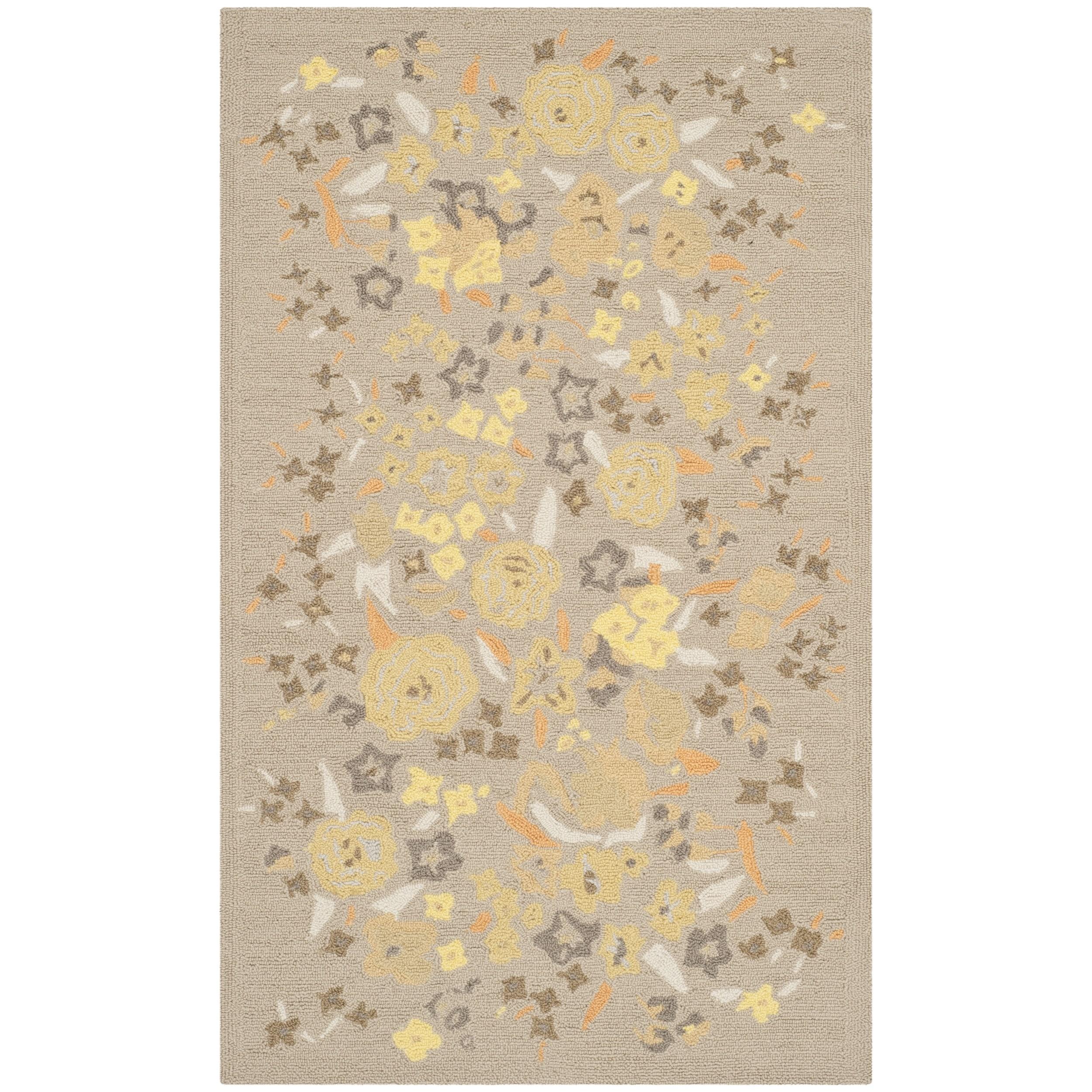Martha Stewart by Safavieh Watercolor Garden Nutshell Woo...