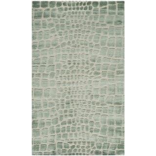 Martha Stewart Amazonia Feldspar Silk Blend Rug (3'9 x 5'9)
