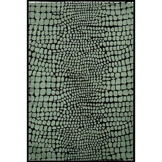 Martha Stewart Amazonia Feldspar Silk Blend Rug (7'9 x 9'9)