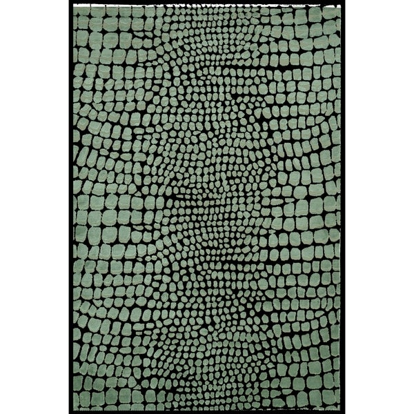 Martha Stewart by Safavieh Amazonia Feldspar Silk Blend Rug (8'6 x 11'6)