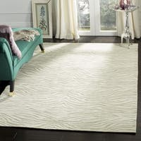 Martha Stewart by Safavieh Journey River Silk/ Wool Rug - 8'6 x 11'6