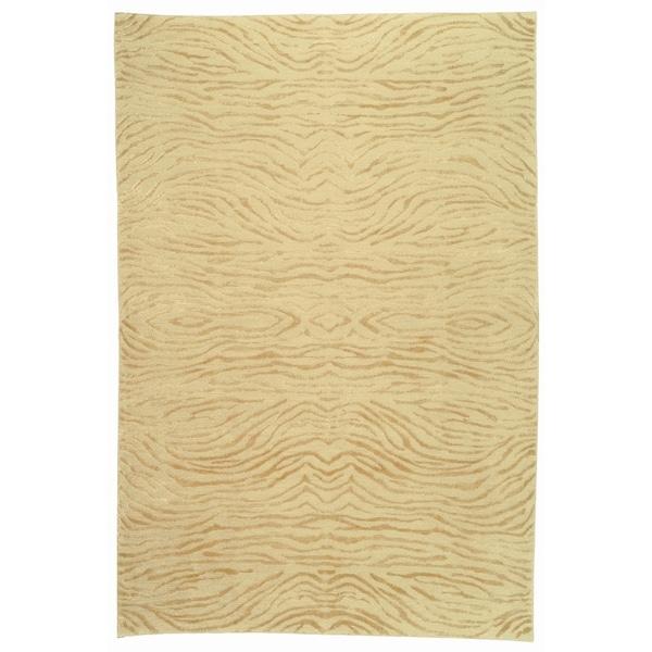 Martha Stewart by Safavieh Journey Desert Silk/ Wool Rug (9'6 x 13'6) - 9'6 x 13'6