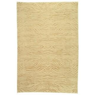 Martha Stewart by Safavieh Journey Desert Silk/ Wool Rug (5'6 x 8'6)