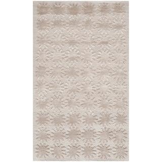 Martha Stewart Constellation Day/ Break Silk/ Wool Rug (2'6 x 4'3)
