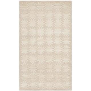 Martha Stewart Constellation Milky Way Silk/ Wool Rug (2'6 x 4'3)