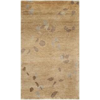 Martha Stewart Trellis Amber Wool Rug (2'6 x 4'3)
