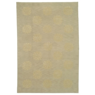 Martha Stewart by Safavieh Medallions Quartz Silk/ Wool Rug (8'6 x 11'6)
