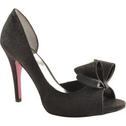 Women's Paris Hilton Senorita Black Glitter