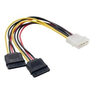 SYBA Multimedia Molex to SATA Power Cable