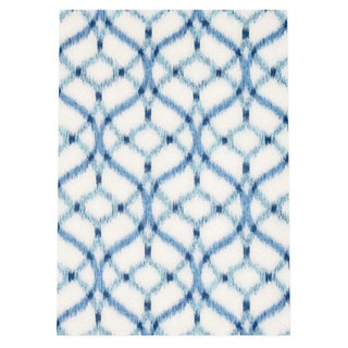 Waverly Sun N' Shade Izmir Ikat Aegean Area Rug by Nourison (5'3 x 7'5)