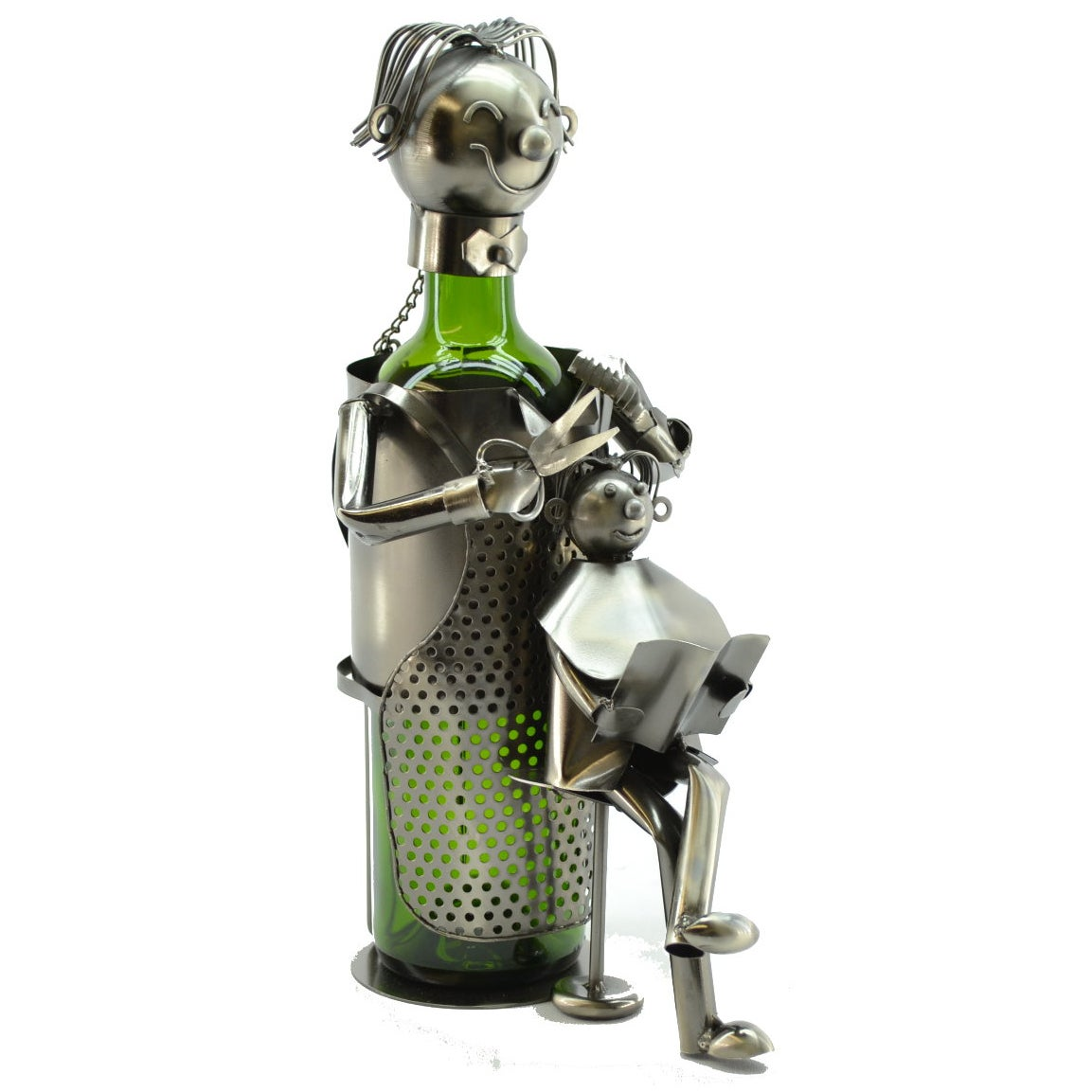 Caddy Company Wine Caddy Hairdresser Wine Bottle Holder (...