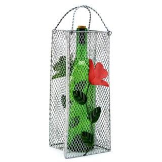 Wine Caddy Flowers Gift Bag Wine Bottle Holder