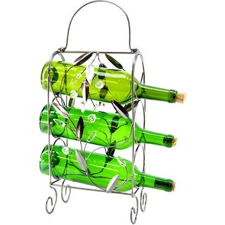 3-Bottle Wine Rack