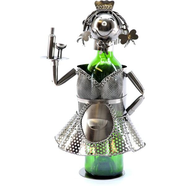 Wine Caddy French Waitress Wine Bottle Holder