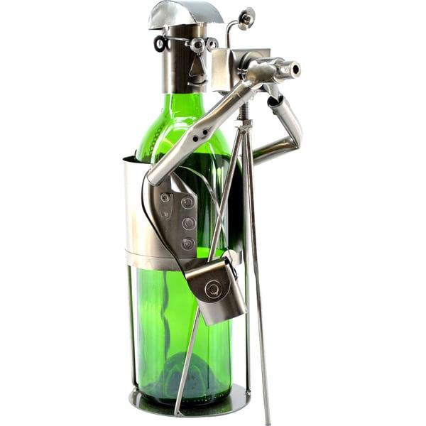 Wine Caddy Photographer Wine Bottle Holder