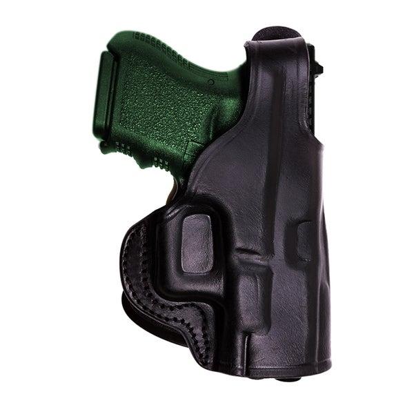 Tagua HK 45 Black Leather Thumb Break Paddle Holster
