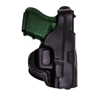 Tagua HK 45 Black Leather Thumb Break Paddle Holster