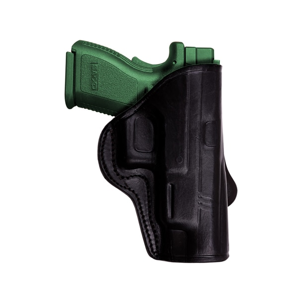 Tagua HK 45 Open Top Paddle Black Right Hand Holster