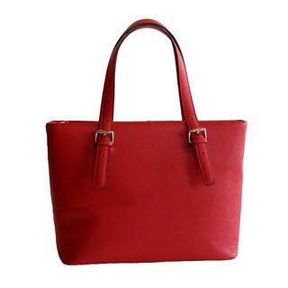 Concealed Carrie Concealed Firearm Smooth Leather Tote Bag (3 options available)