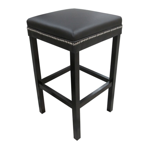 The Ashley Brown Studded Barstool Free Shipping Today