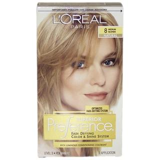 L'Oreal Superior Preference Fade-Defying Medium Blonde #8 Natural Hair Color