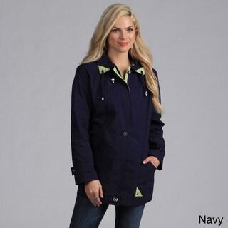 Mackintosh Women's Contrast Lined Water-resistant Jacket