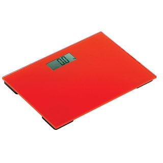 Scala Red Digital Weight Scale