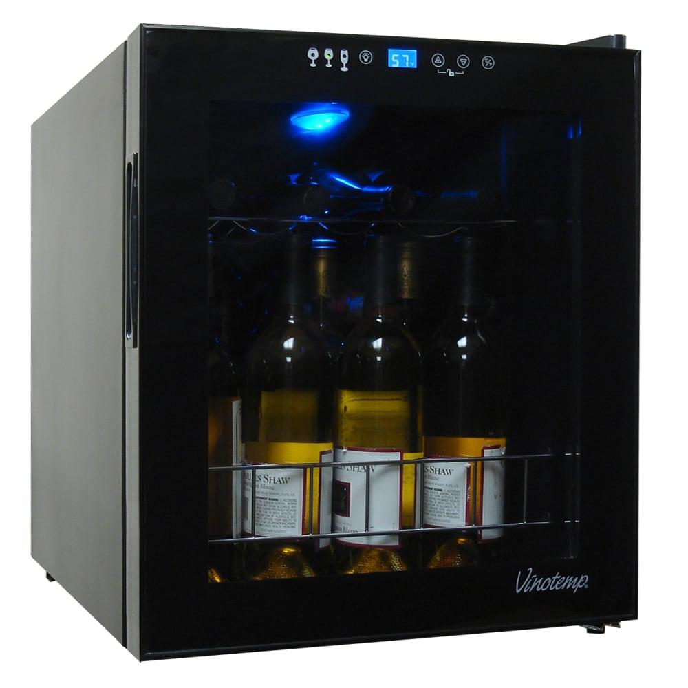 Element by Vinotemp 15-bottle Touchscreen Wine Cooler, Bl...