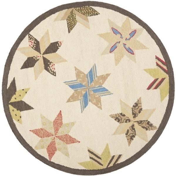 Martha Stewart By Safavieh Lemoyne Star Bone Foler Wheat