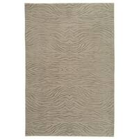 Martha Stewart by Safavieh Journey Stone Silk/ Wool Rug - 9'6 x 13'6