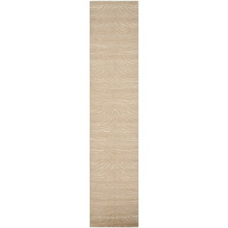 martha stewart by safavieh journey desert silk wool rug 2u00273 x 10 - Martha Stewart Rugs