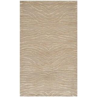 Martha Stewart Journey Desert Silk/ Wool Rug (2'6 x 4'3)