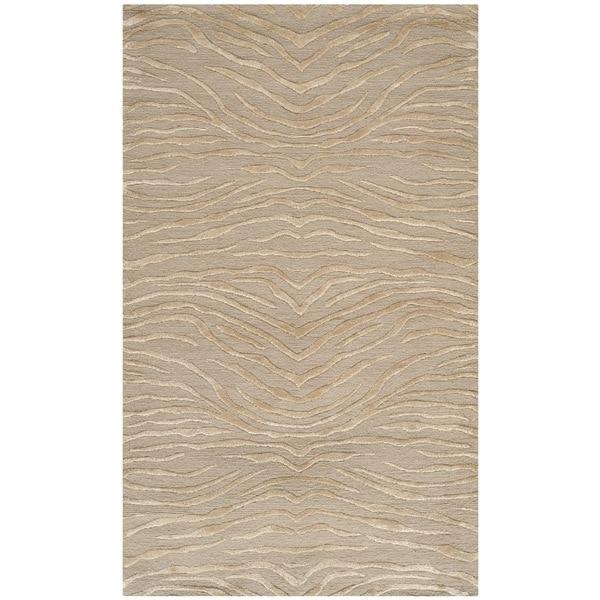 Martha Stewart by Safavieh Journey Desert Silk/ Wool Rug (2'6 x 4'3)