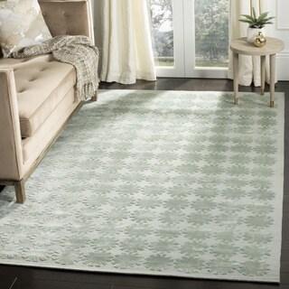 Martha Stewart by Safavieh Constellation Silk/ Wool Rug