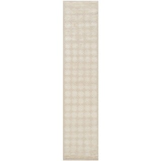 Martha Stewart Constellation Milky Way Silk/ Wool Rug (2'3 x 10')