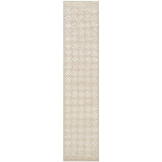 Martha Stewart by Safavieh Constellation Milky Way Silk/ Wool Rug (2'3 x 10')
