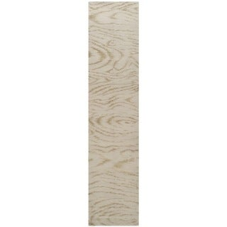 Martha Stewart by Safavieh Faux Bois Lichen Silk/ Wool Rug (2'3 x 10')