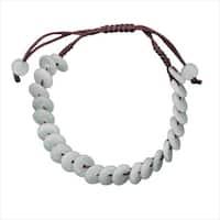 Handmade 'Lifesaver' Jade Bracelet (China)