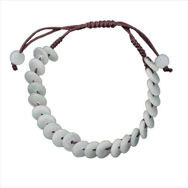 Handmade X27 Lifesaver Jade Bracelet China