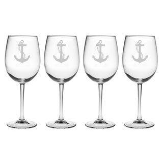 Anchor Collection Wine Glasses (Set of 4)