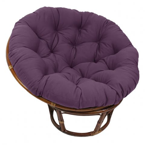 Blazing Needles Solid 44-inch Papasan Cushion