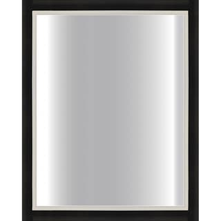 black framed bathroom mirrors black framed mirror 24 x 30 free shipping today 17397